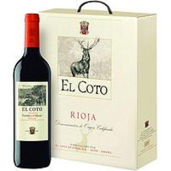 Coto Vino Tinto Crianza Rioja Pack 3x75 cl