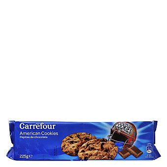 Carrefour Galletas con pepitas de chocolate 225 g