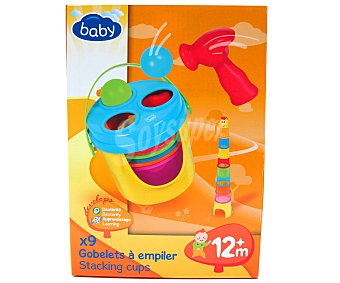 BABY Cazuelas de colores Apilables 1 Unidad