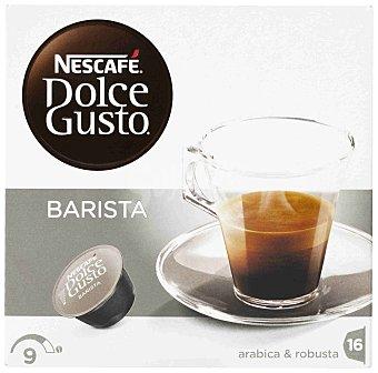 Dolce Gusto Nescafé Café Espresso Barista arábica y robusta intensidad 9  16 cápsulas (estuche de 120 g)