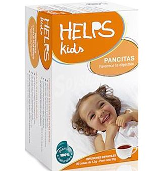 HELPS KIDS Pancitas Infusion 20 UNI