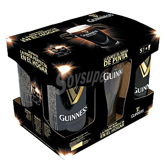Guinness Cerveza Draught Pack 5x44 cl