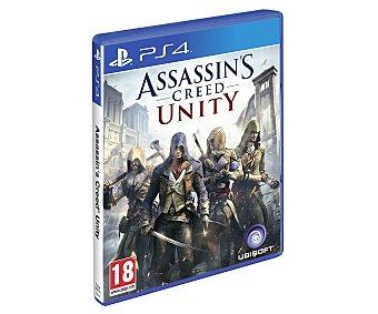 AVENTURA Videojuego Assasin´s Creed Unity para PS4. Género: Acción, . Recomendación por edad pegi: + 18 - 1 Unidad