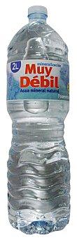 FUENTEDONA Agua mineral natural (mineralizacion muy debil) Botella 2L