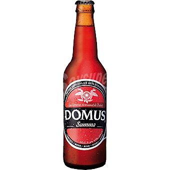 DOMUS Summa Cerveza artesanal de Toledo de Alta Fermentación Botella 33 cl
