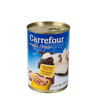 Carrefour Lata Pate con Pollo y Arroz para Cachorros 400 gr