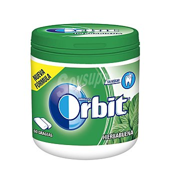 Orbit Chicle de hierbabuena en grageas 60u (84g)