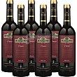 Vino tinto crianza D.O. Rioja caja 4 botellas 75 cl + 2 de regalo 4 botellas 75 cl + 2  Lagunilla