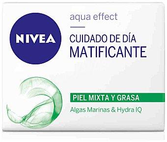 Nivea Cuidado de día matificante para piel mixta/grasa Aqua Effect Tarro 50 ml