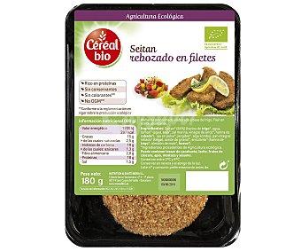 Naturecor Seitán de cultivo ecológico rebozado 180 gramos
