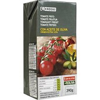 Eroski Tomate frito en aceite de oliva Brik 390 g
