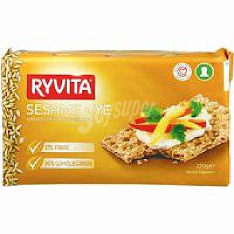 Ryvita Pan de centeno con sésamo Paquete 250 g