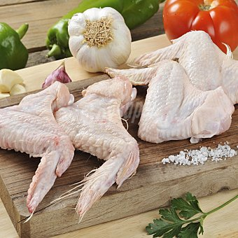 Carrefour Alas de pollo. Formato familiar Bandeja de 1400.0 g.