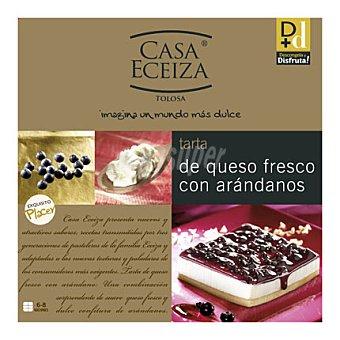 Casa Eceiza Tarta de queso fresco con arándanos 550 g