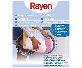 Rayen Saco con cremallera para lavadora, 70x50 centímetros rayen