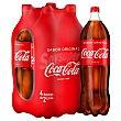 Coca cola Pack 4 botellas de 2 litros Coca-Cola
