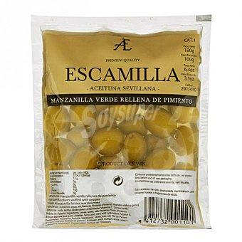Escamilla Aceitunas rellenas de pimiento Envase 100 g