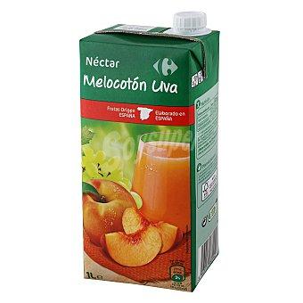 Carrefour Nectar de melotón y uva 1 l