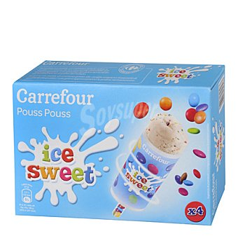 Carrefour Helado Ice Sweet 4 unidades