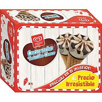 FRIGO cucuruchos de vainilla y chocolate estuche 440 ml