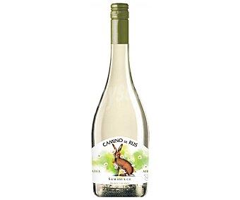 CAMINO DE RUS Vino blanco semidulce con IGP Vinos de la Tierra de Castilla Botella de 75 cl