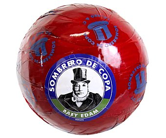 Sombrero de Copa Queso edam de bola 1000 gramos aproximados