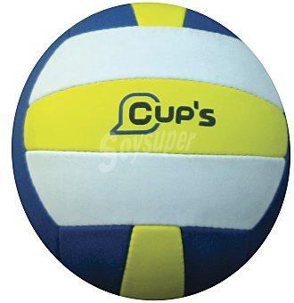 CUP´S Balón de Volley Ball y Volley playa con costuras resistentes 1 unidad
