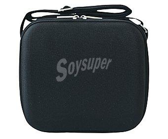 Iris Bolsa porta alimentos o lungh bag color negro con 2 recipientes herméticos de 0,6 litros de capacidad y bandeja separadora 1 unidad