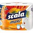 Papel de cocina decorado super absorbente 2 capas paquete 2 rollos paquete 2 rollos Scala