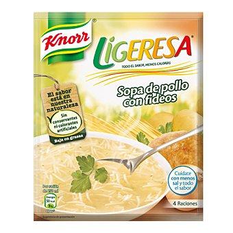 Knorr Sopa de pollo con fideos Ligeresa Envase 62 g