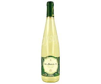 FRI SANZ TE Vino blanco verdejo y semi dulce con denominación de origen Rueda Botella de 75 centilitros