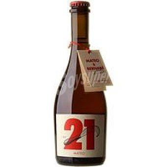 MATEO&BENABÉ Cerveza Mateo Botellín 50 cl