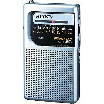 SONY ICF-S10MK2 Radio de bolsillo afm/fm