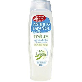 Instituto Español Gel de ducha Natura dermo cuidado hipoalergénico piel sensible Botella 750 ml