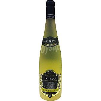 Uriarte Vino blanco txakoli Edicion Limitada D.O. Bizkaiko Txakolina botella 75 cl Botella 75 cl