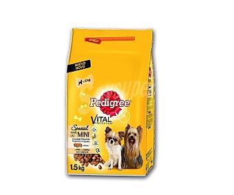 Pedigree Vital Protection Pienso a base de pollo para perros adultos de talla pequeña Bolsa 1.5 kg