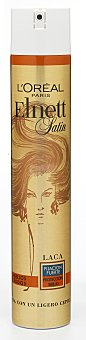 Elnett L'Oréal Paris Laca fijación fuerte cabello teñido  spray 400 ml