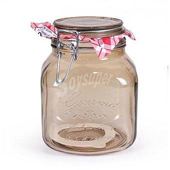 Home Style Bote Redondo de Cristal Gourmet 1,7 L. - Fumé 1 ud