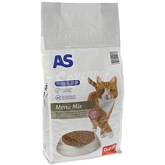 AS Alimento para gatos carne Bolsa 1.5 kg
