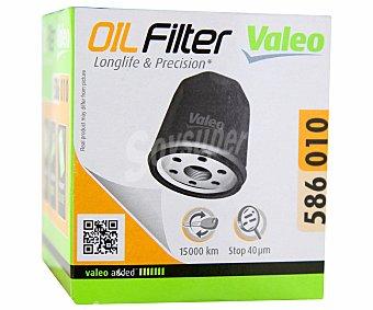 VALEO Filtro de Aceite Modelo 586010 1 Unidad