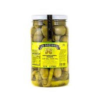 Los Aceituneros Aceitunas gordal picantes Frasco 800 g