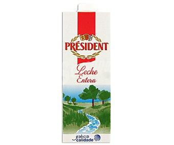 President Leche Entera Brik 1 litro