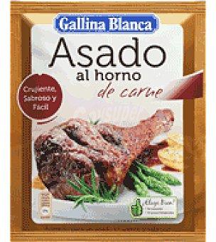 Gallina Blanca Sazonador para asado al horno de carne 30 g
