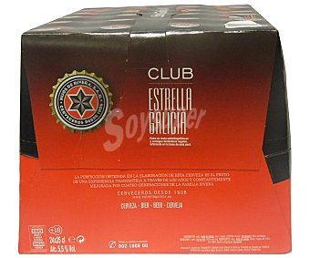 Estrella Galicia Especial cerveza rubia nacional pack 24 botellas 25 cl Pack 24 botellas 25 cl