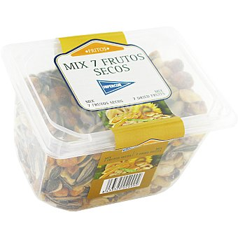 Hipercor Mix de 7 frutos secos fritos Tarrina 375 g