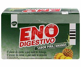 ENO Digestivo sabor piña 12 Sobres 70 Gramos