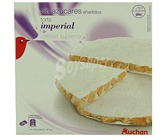 Auchan Torta de turrón duro sin azúcares añadidos 200g