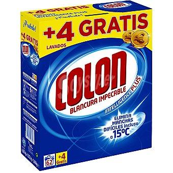 COLON detergente máquina polvo maleta 62 cacitos + 4 gratis