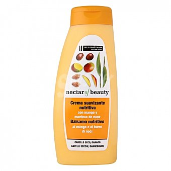Les Cosmétiques Acondicionador Mango & Nuez para cabello seco -nectar of Beauty 500 ml 500 ml