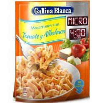 GALLINA BLANCA Macarrones Micro con Tomate sobre 81 gr